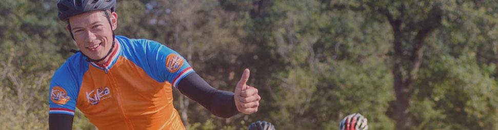 20 kilometer fietsen voor Stichting Kinderen Kankervrij