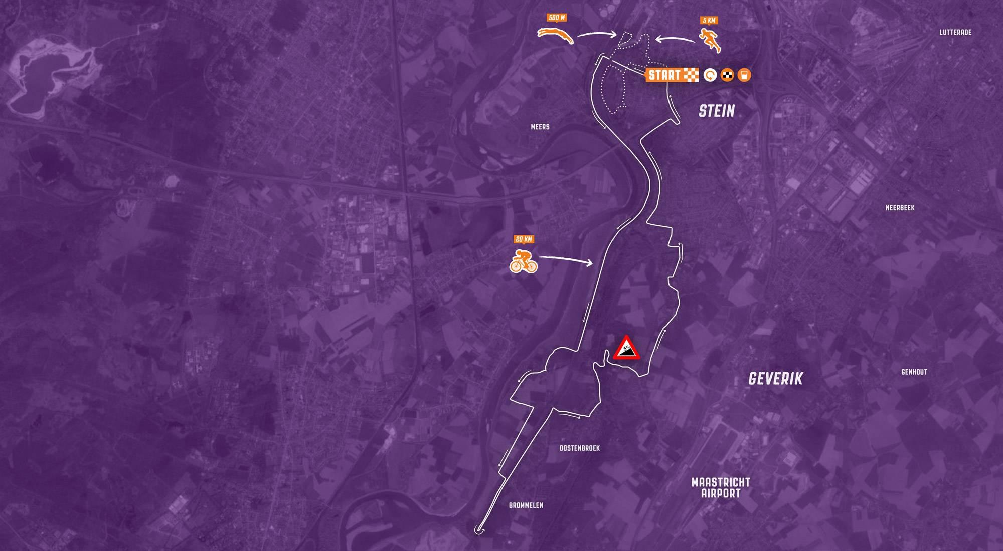 De routes van KiKathlon